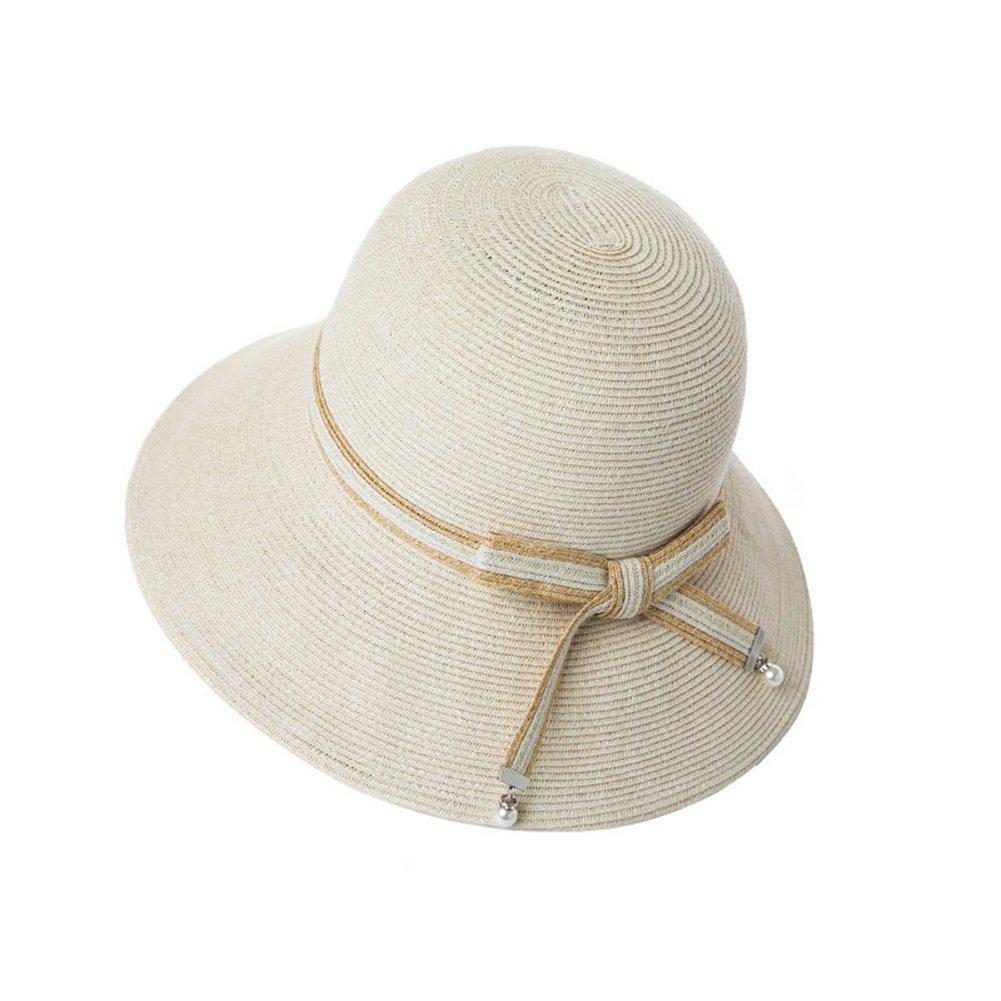 WYYY Sombreros Sra. Visera Ganchillo Plegable Papiro Transpirable ...