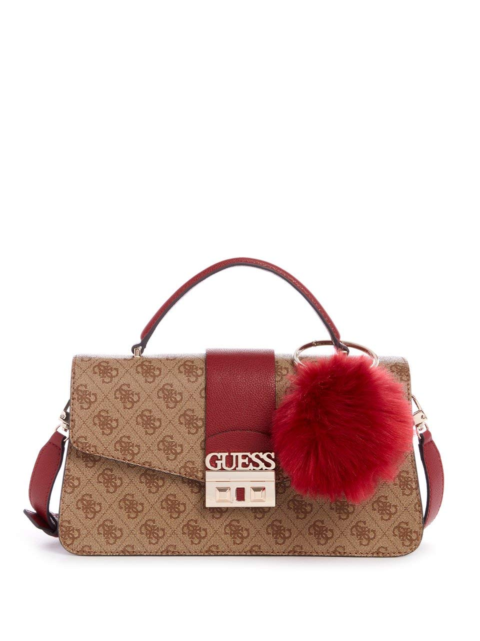 GUESS Logo Luxe Flap-Top Crossbody