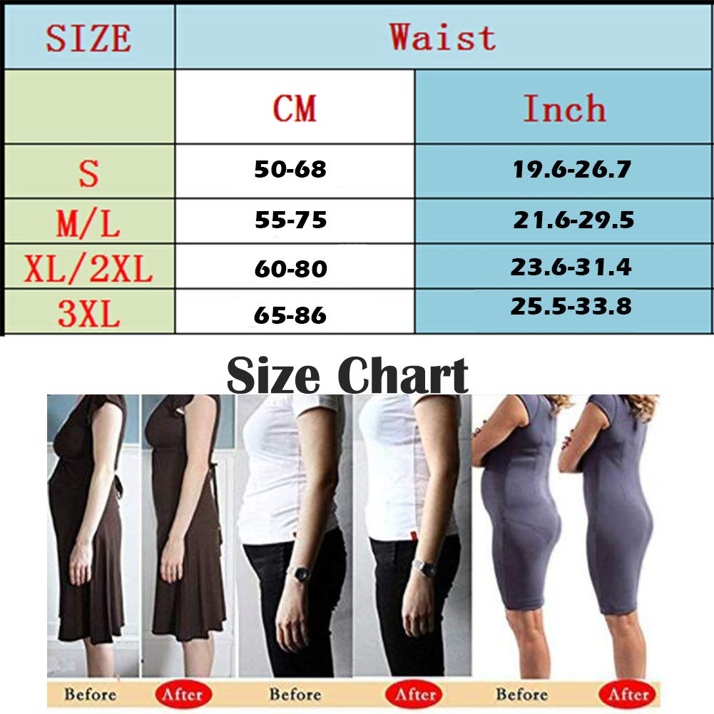High Waist Trainer Tummy Butt Lifter Body Shaper for Womens Seamless Thigh Thong Plus Size