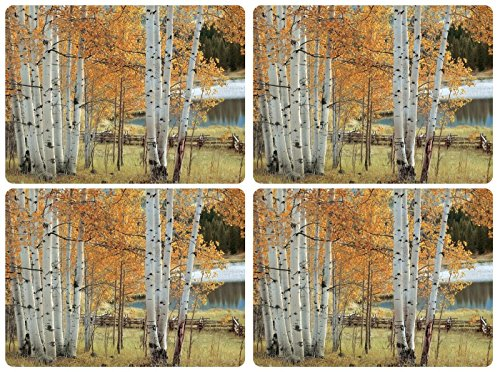 - Pimpernel Set of 4 Birch Beauty Placemats