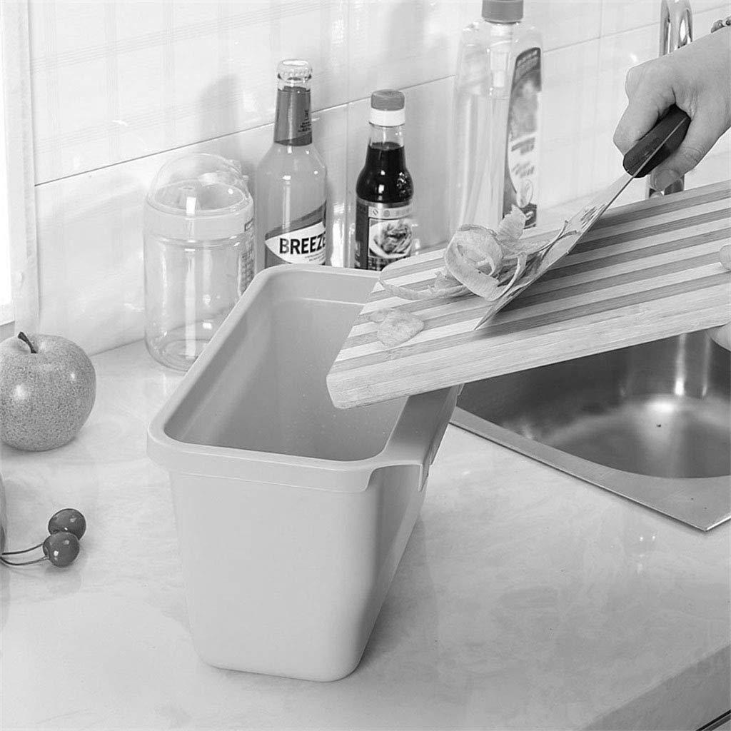 No Cover LIUJM Papierkorb Wand-Mülleimer Schrank Storage Barrel Mülleimer für Küchen
