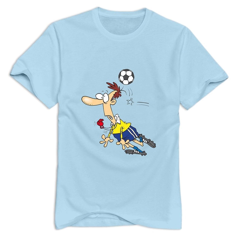 Vansty Soccer Boy 100% Cotton T Shirt For Men