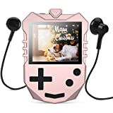 AGPTEK MP3 Player for Kids, Portable 8GB Music Player with Built-in Speaker, FM Radio, Voice Recorder, Expandable Up to…
