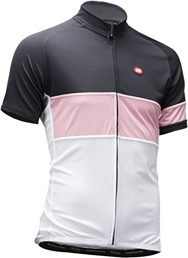 Bellwether Griffin Men/'s Long Sleeve Road Cycling Jersey Black//Pink XXL