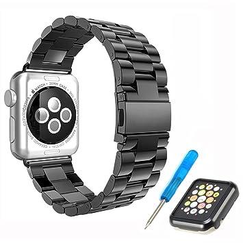 Elespoto Bracelet Remplacement Bandes de Montre pour Apple Watch séries 1,2,3,