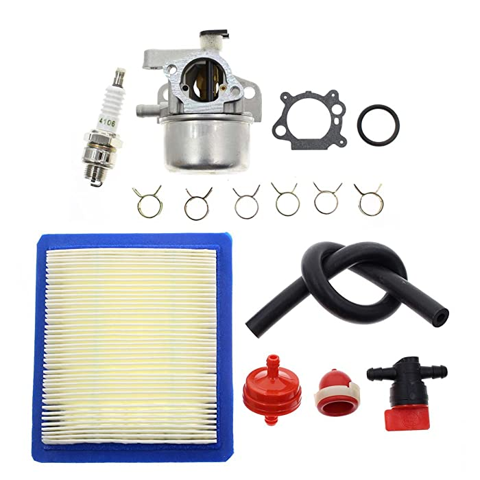 "Carbhub Carburetor for Briggs & Stratton 799866 790845 799871 796707 794304 12H800 Engine Toro Craftsman Lawn Mower Carb Toro 22"" Recycler with Air Filter Spark Plug Primer Bulb"