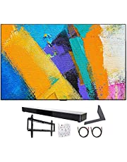 "LG OLED65GXPUA 65"" GX 4K OLED TV w/AI ThinQ (2020) with Stand and Soundbar Bundle"
