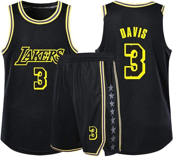 c/ómodo Camiseta de baloncesto #39 Lakers Howard Baloncesto Uniforme Chaleco de baloncesto para hombre chaleco deportivo amarillo S-2XL amarillo amarillo XL transpirable