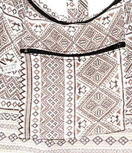 Shoulder Cross Body Whitebrown Bag Classics Hobo Hippie Boho Colorful Bohemian xgtxpY7