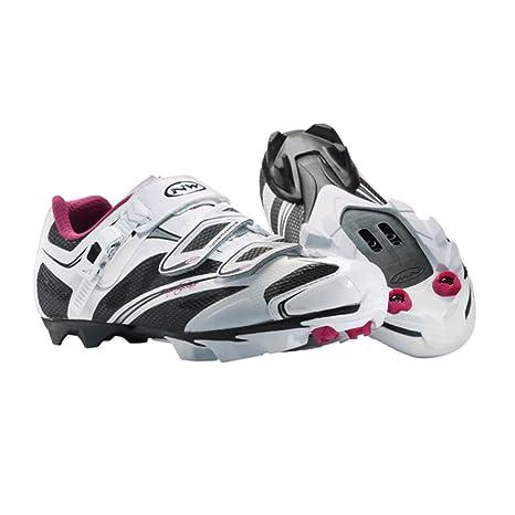 Northwave Katana SRS - Zapatillas de mountain bike para mujer (modelo de 2014) blanco