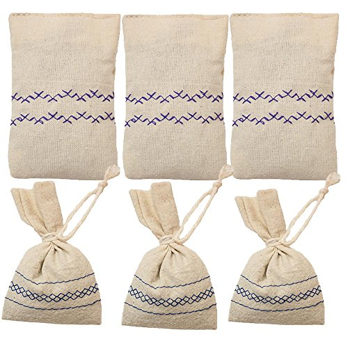 Intense Antioxidant Protection (Croatian Lavender Sachets 6 pack Cotton True Mediterranean Filled With Natural Lavender Grown Organic In Croatia European Union For Drawers Closets Wardrobe Nightstand)