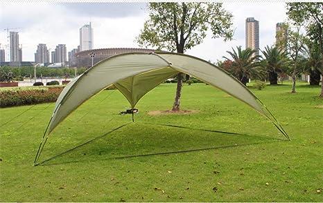 ZXCVBW Al Aire Libre Enorme Refugio para el Cielo Triángulo portátil Toldos Protección Solar Toldo Protector Solar Fiesta Familiar Playa al Aire Libre Caming Pérgola Tienda: Amazon.es: Deportes y aire libre