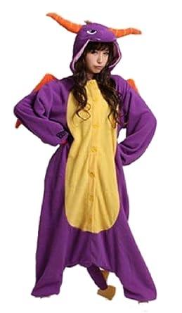 Spyro Dragon Onsie Pyjamas Onesie Fancy Dress Costume Sleepsuit Unisex Mans  Womens (Large 170- aa571f92a