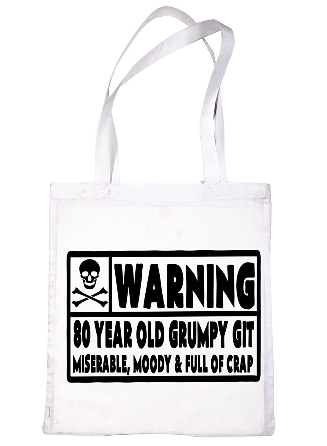 Amazon Print4u 80 Year Old Git 80th Birthday Present Shopping Tote Bag Ladies Gift White Shoes