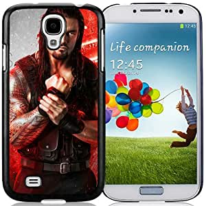 Fashionable Samsung Galaxy S4 I9500 Case ,Unique And Lovely Designed Case With Wwe Superstars Collection Wwe 2k15 Roman Reigns 07 Black Samsung Galaxy S4 Cover Phone Case