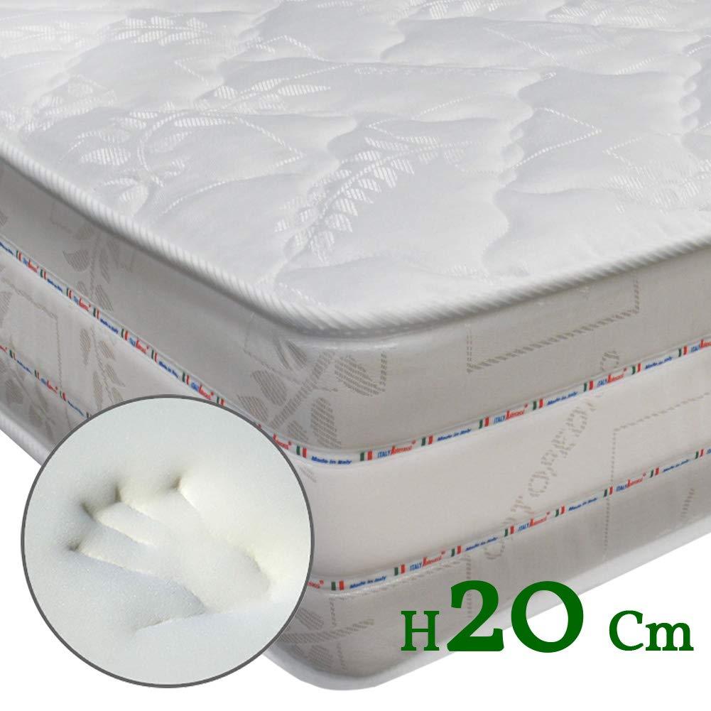 Perfetto Top Materasso alto 20 cm ortopedico anatomico in Airpur® e Memory Foam matrimoniale 160×190 Prezzi offerte