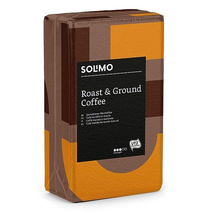 Marca Amazon - Solimo Café molido compatible con todos los usos ...