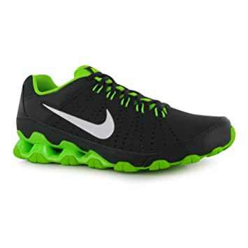Nike Reax 9 Training Shoes Mens Grey White Green Fitness Trainers Sneakers  (UK10 9d1991b5c