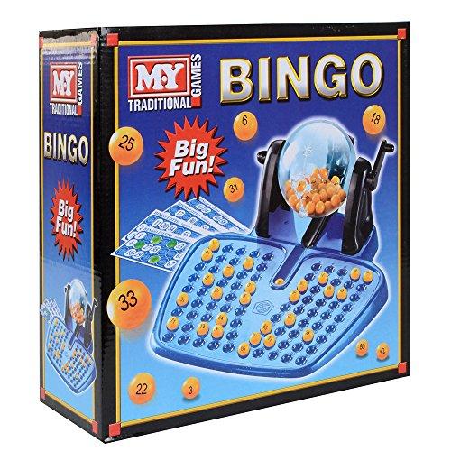 MEIN Traditional Game - Familien Bingo-Spiel - Kugelspender - Bingo-Kugeln - Karten