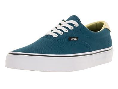 638171c4277d Vans Men s Era 59 50th Lace-Up Skate Shoe Stv Navy Gold 10.5 D(M) US ...