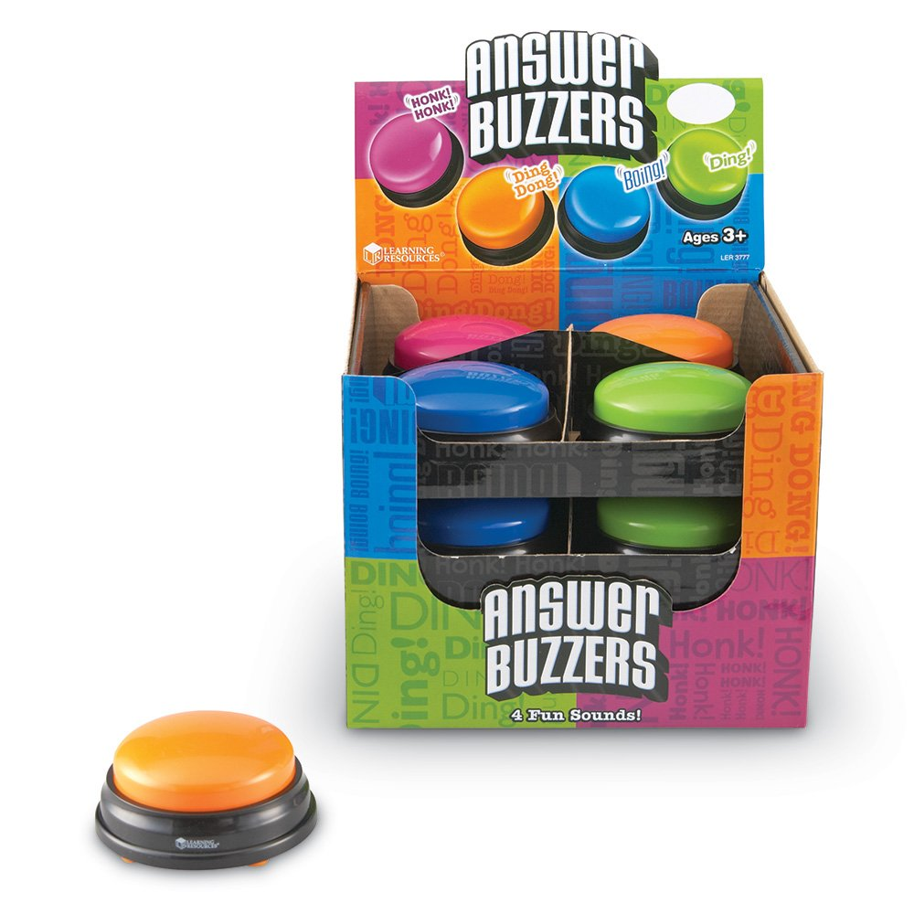 Learning Resources Answer Buzzers Classpack, Classroom Tool