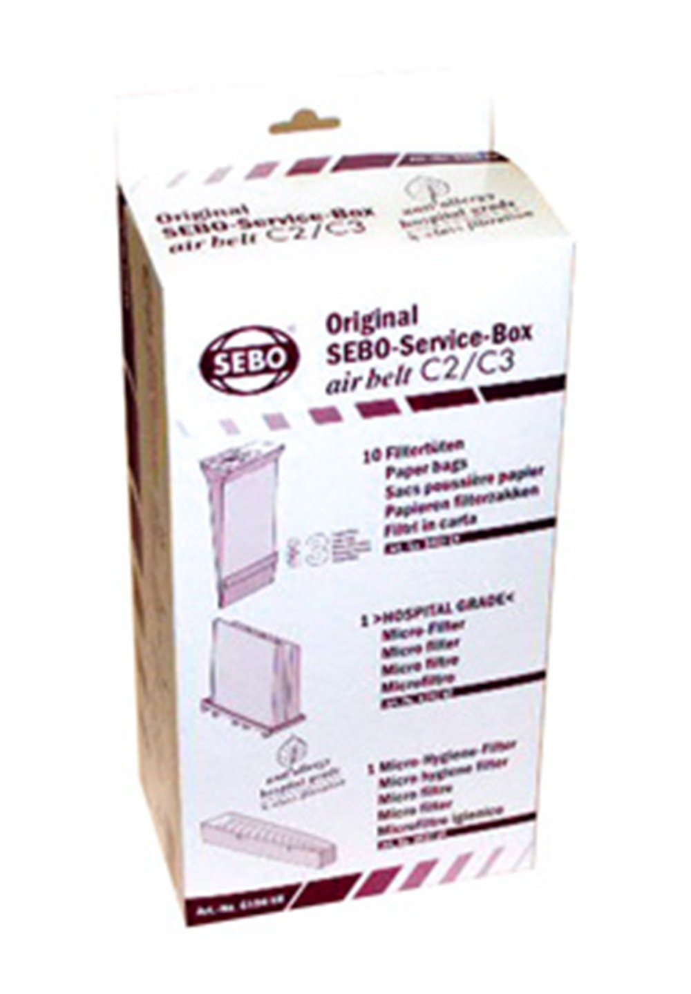 Sebo 6198AM Service Box for C Series Vacuum