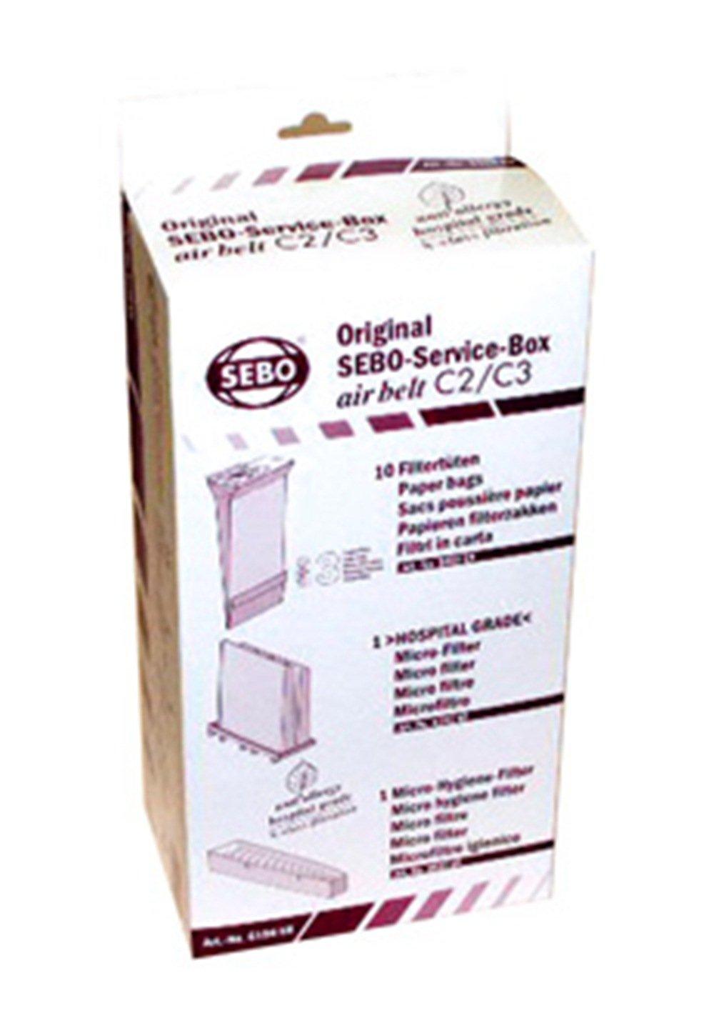 Sebo 6198AM Service Box for C Series Vacuum by Sebo