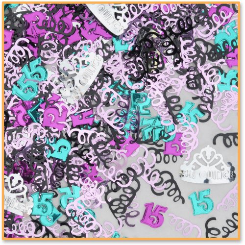 Beistle CN141 Mis Quince Confetti
