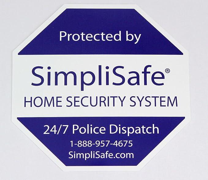 Simplisafe yard sign stake