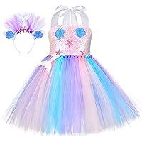 Tutu Dreams Unicorn Princess Costumes for Girls 1-12Y with Headband Birthday Halloween Party