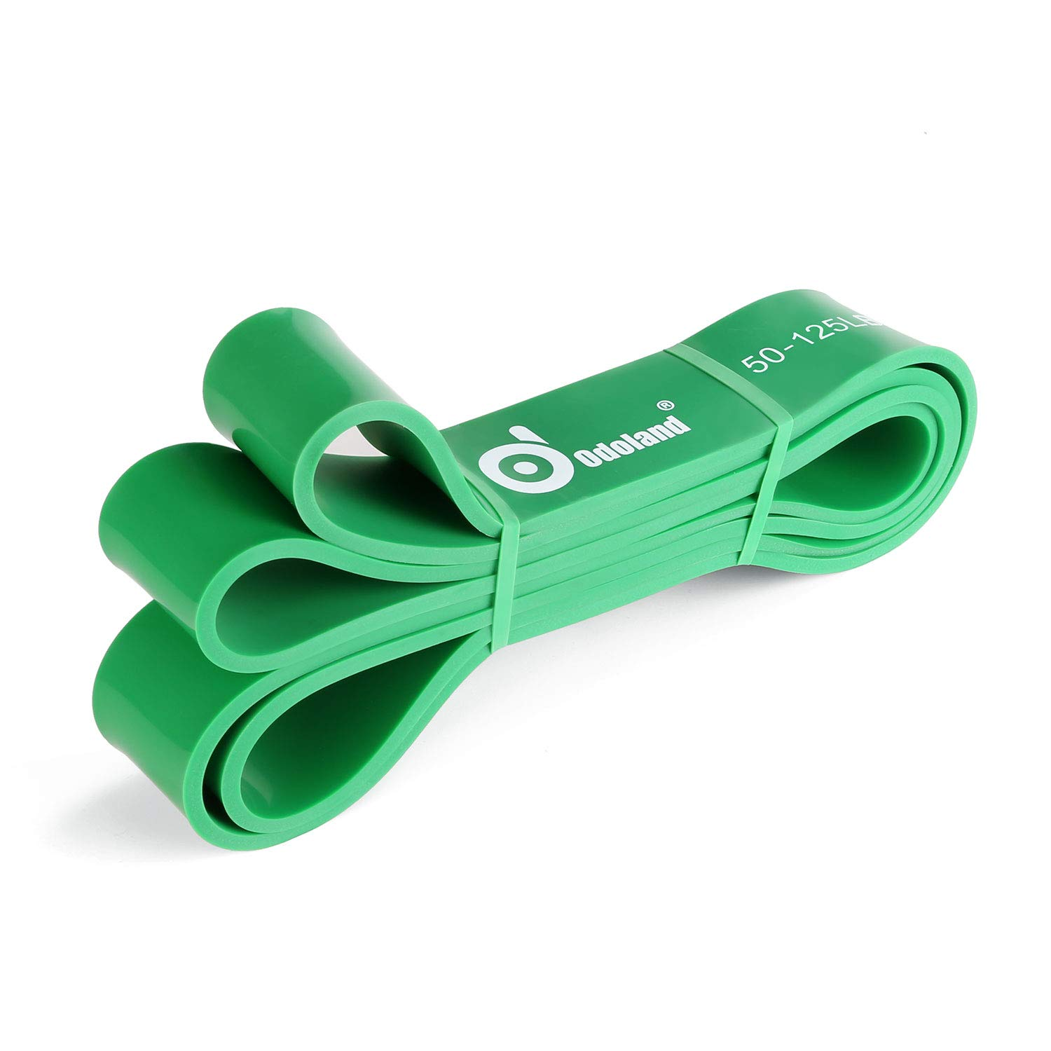 Odoland Resistance Bands, Pull Up Bands for Resistance Training, Physical Therapy, Home Workouts,Green