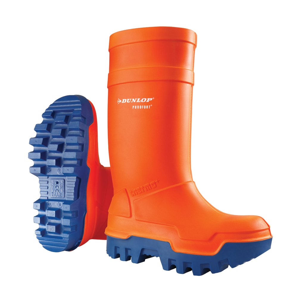 Purofort Thermo+ Full Safety Orange Shoes E662343 Size - 8
