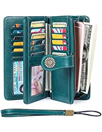 Elegant 24 20 cc Slots Womens RFID Wallets Large Capacity...