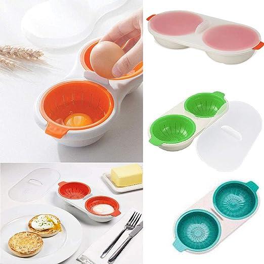 Shareculture - Escalfador de Huevos para microondas (Doble ...