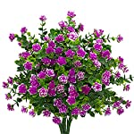 Artificial-Flowers-Fake-Outdoor-UV-Resistant-Plants-Faux-Plastic-Greenery-Shrubs-Indoor-Outside-Hanging-Planter-Home-Kitchen-Office-Wedding-Garden-Decor-Magenta