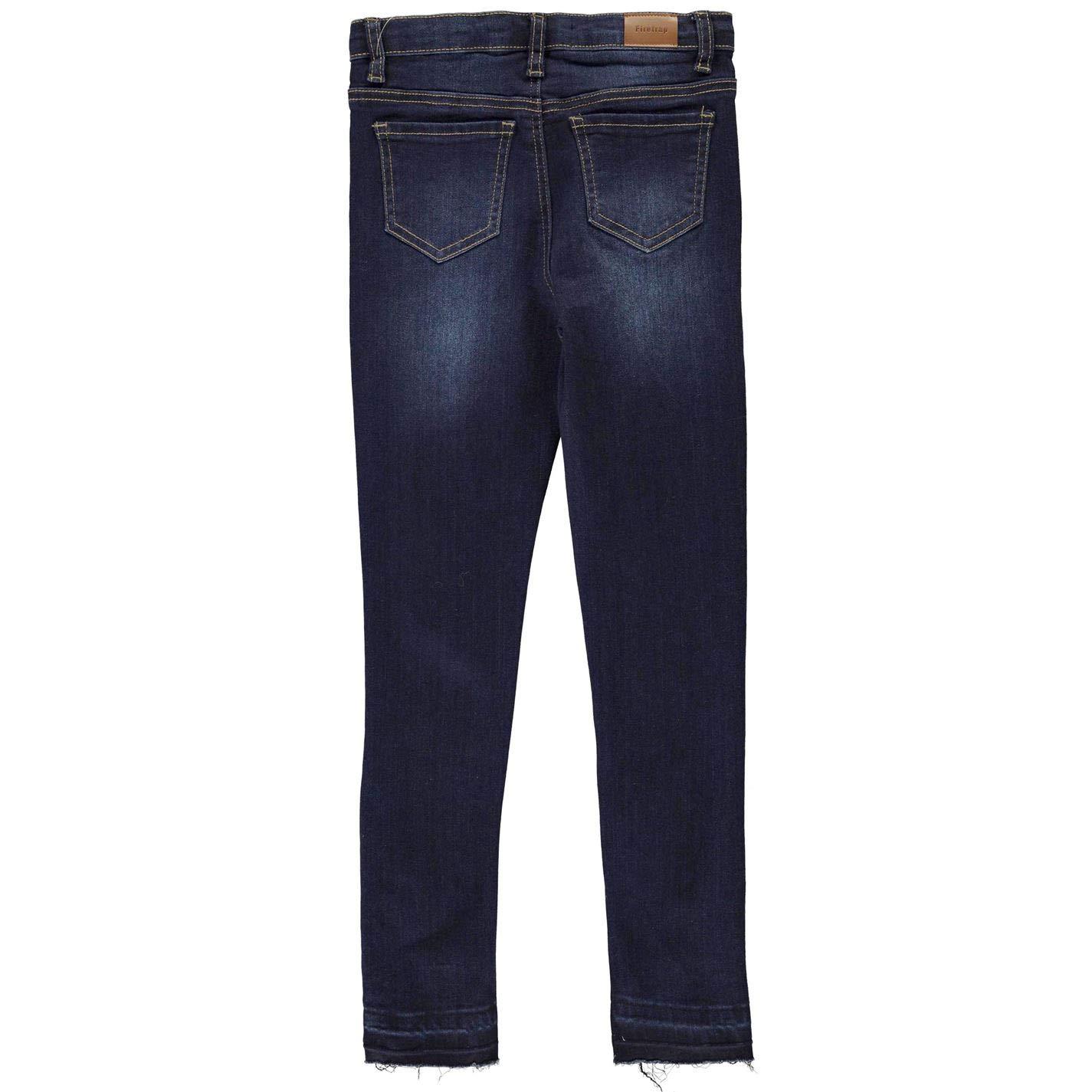 Firetrap Kids Girls Skinny Jeans Junior Pants Trousers