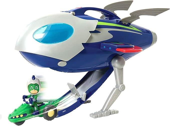 Simba 109402369 PJ Masks Super Moon - Juego de cohetes , color/modelo surtido