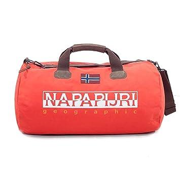 e579a9d9d1 Napapijri Bags Sac de Sport Grand Format, 60 cm, 48 liters, Rouge ...