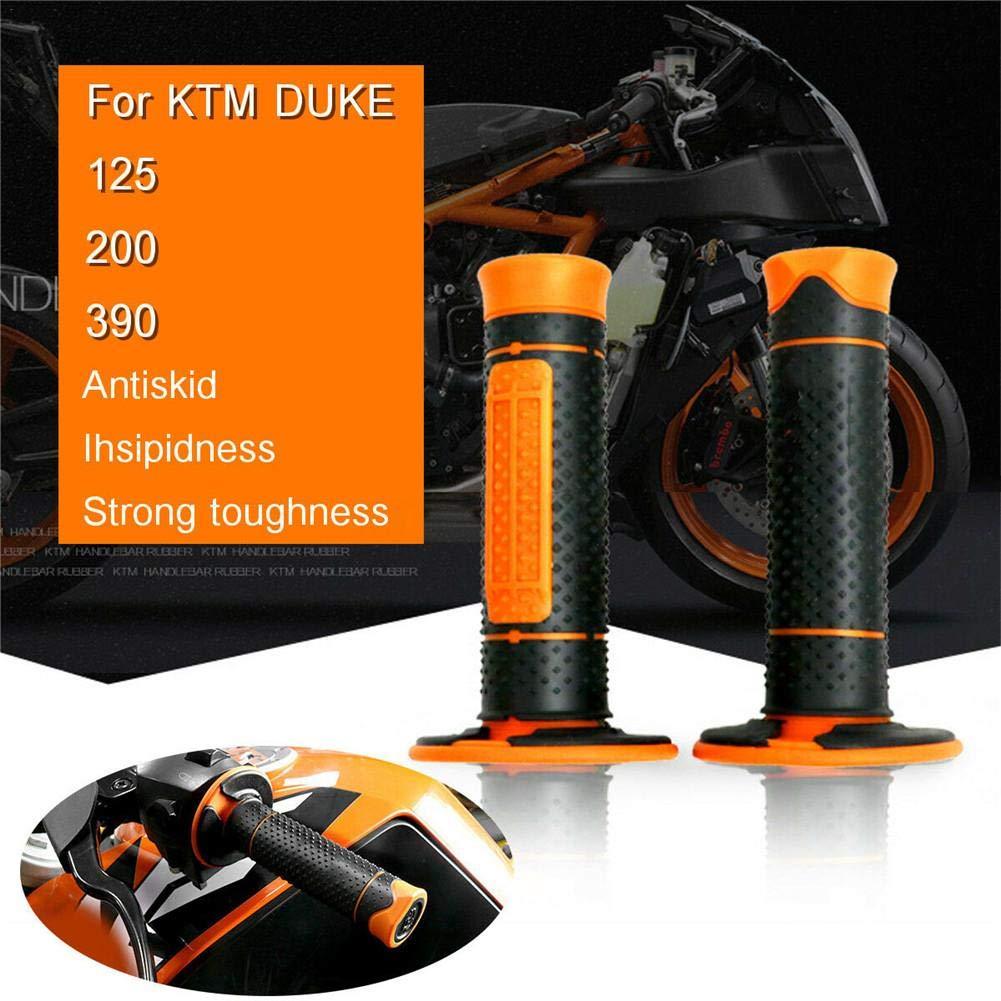 Motorrad Handgriffe F/ür KTM Duke 125//200//390 Gummi Lenkergriffe Falliback Motorrad Lenkergriffe