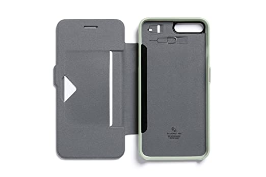 Amazon.com: Bellroy Leather iPhone 8 Plus / 7 Plus Phone Wallet Eucalyptus: Cell Phones & Accessories