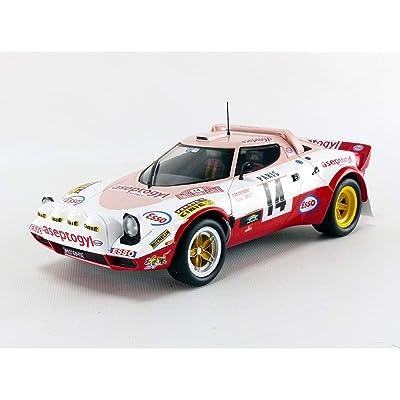 1977 Lancia Stratos Rally Montecarlo 1:18 Solido 1800805: Juguetes y juegos