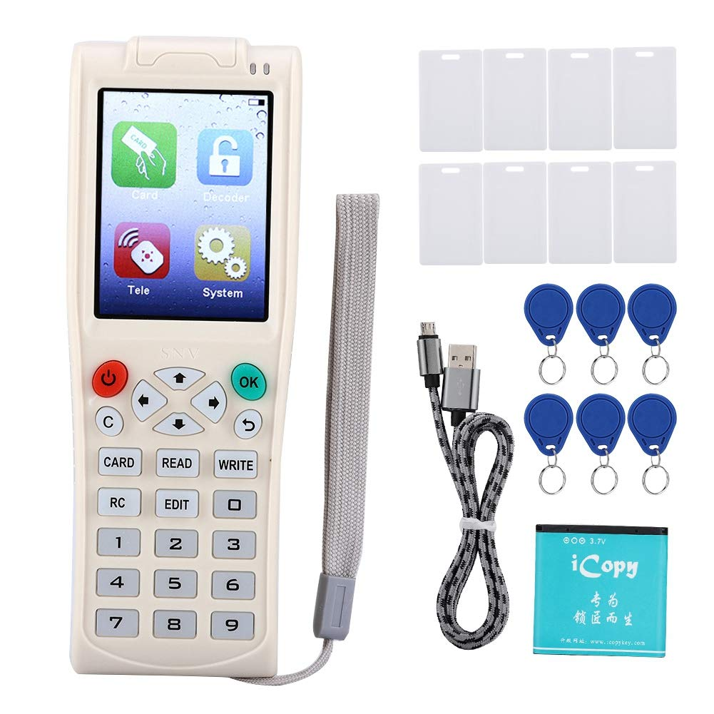 Huakii IC/ID Reader Copier, Smart Card Key Duplicator with Full Decode Function by Huakii