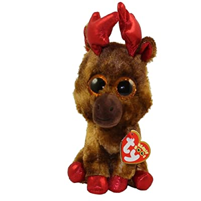 TY Beanie Boo Maple Moose Canada 150 Exclusive: Toys & Games