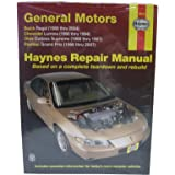 Haynes repair manual general motors buick regal 88 05 chevrolet haynes repair manuals gm regal lumina grand prix cutlass supreme 88 fandeluxe Choice Image