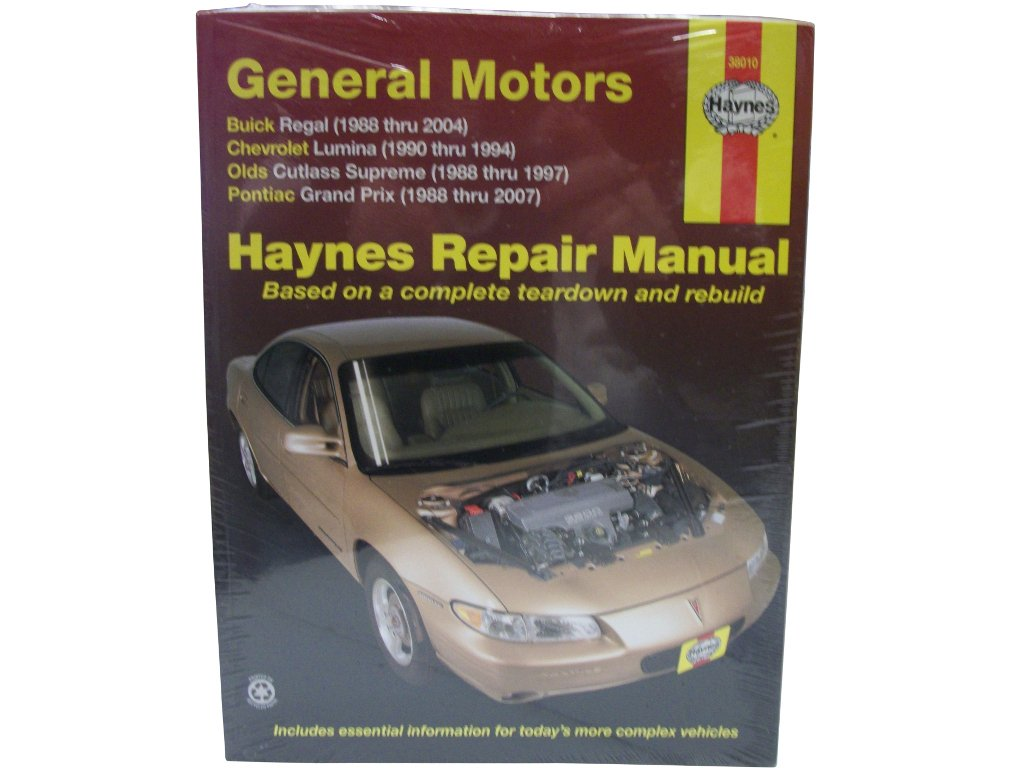 haynes repair manuals gm regal lumina grand prix cutlass supreme rh amazon com 1984 Cutlass Supreme 1980 Cutlass Supreme