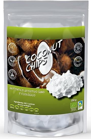NATURSEED - Chips de Coco Ecológico - Sin Azúcares Añadidos - 100 ...