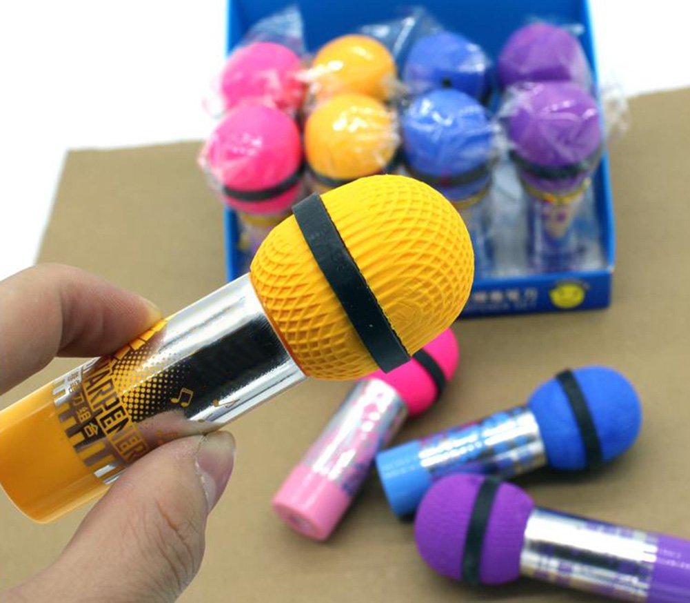 weimay Sacapuntas Sacapuntas creativos Microphone Styling Ni/ños Regalo Stationery/ /