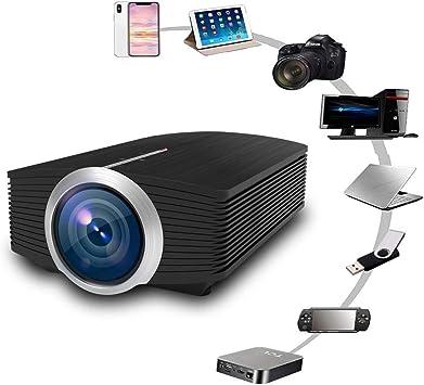 Proyector, Interfaz De Entrada USB/TF/HDMI/VGA/AV Soporte De ...
