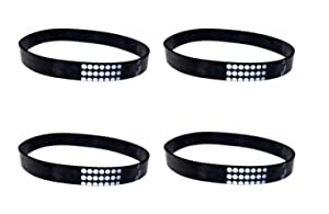 (4) Belts for Eureka Style U Whirlwind Victory 61120A 61120B 61120C 61120D