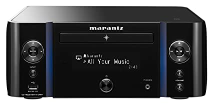 Marantz M-CR611 Network CD Receiver - with WiFi, Airplay & Bluetooth |  Unlimited Music Streaming | Large Display & Vertical Accent Lighting